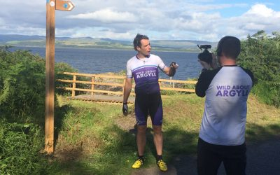 30th July 2016: Mark Beaumont's 'Wild About Argyll' Adventure