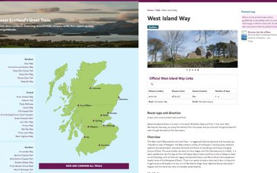 July 2017: Bute on the new Scotland's Great Trails website