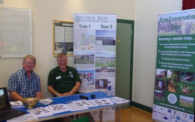 July 2018: Bute Conservation Trust at the Rothesay Gala
