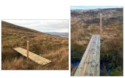 October 2018: New boardwalk bridges for West Island Way